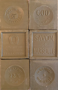 600g Savon De Marseille French Soap Cube Olive Oil 72%