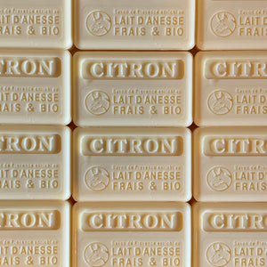 100g Organic Lait D'Anesse Lemon French Soap Bar