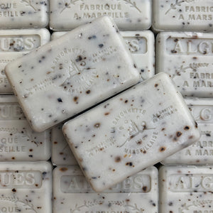 seaweed exfoliating french soap