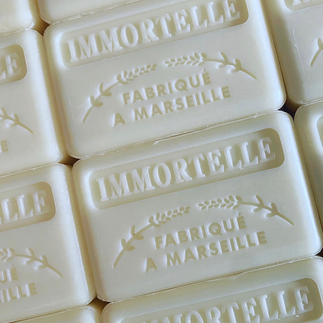 immortelle french soap savon
