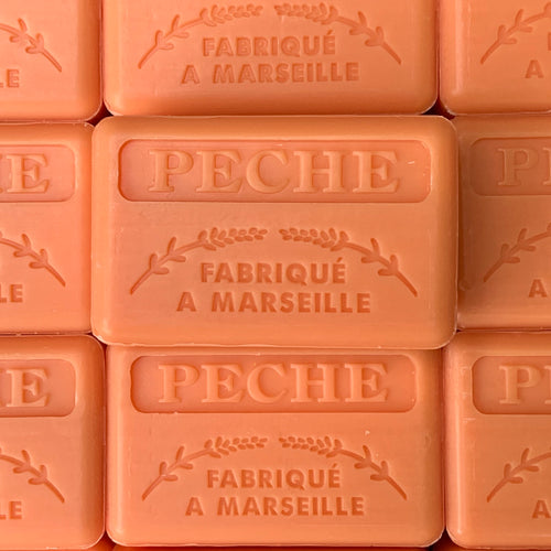 peach french soap marseille