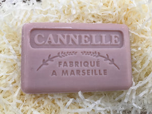 125G Savon De Marseille Cinnamon French Soap