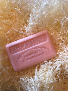 125G Savon De Marseille Eglantine ( Wild Rose ) French Soap Bar