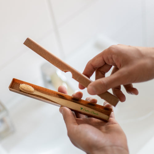 liquid wood travel case toothbrush