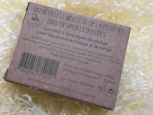 AOC Provence French Olive Oil Soap bar with Essential Oil 150g