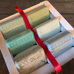 Luxury French soap presentation box