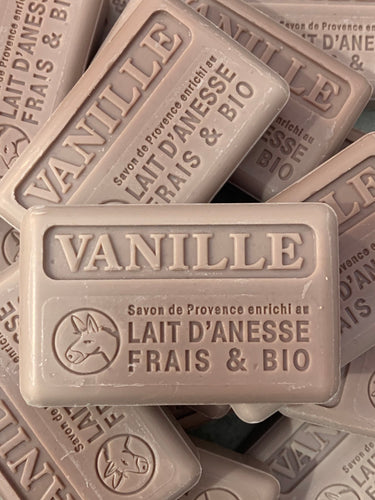 100G Organic Lait D'Anesse Vanilla French Soap Bar