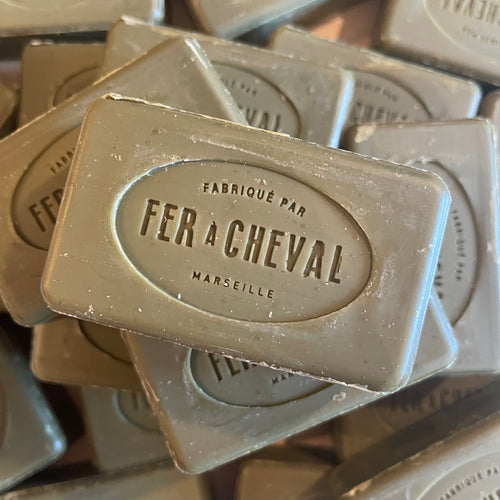 fer a cheval 100g traditonal olive oil marseille soap bar