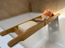 Load image into Gallery viewer, bath tray gift set