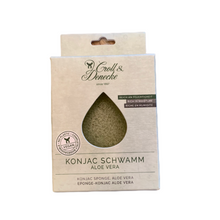 Load image into Gallery viewer, Konjac Facial Sponge - Aloe Vera