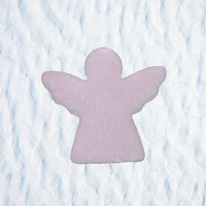 christmas snow soap angels