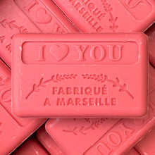 Load image into Gallery viewer, i love you french soap
