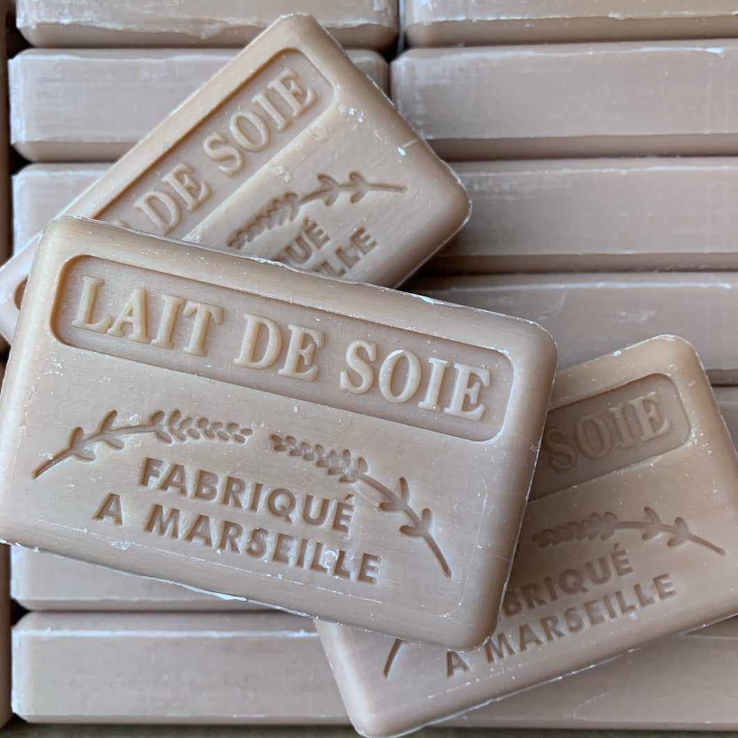 lait de soie frencn soap