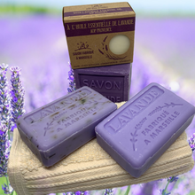 Load image into Gallery viewer, provence lavender soap gift set