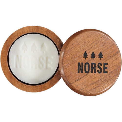 Norse Shaving Soap Bergamot & Acacia Wood Bowl
