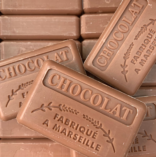 chocolate french soap marseille