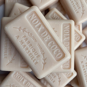 French coconut soap