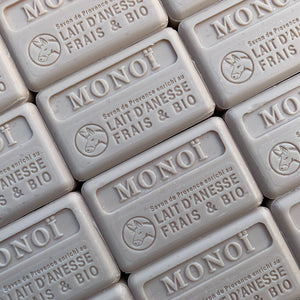 100G Organic Lait D'Anesse Monoi French Soap Bar