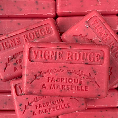 red vine vigne french marseille soap