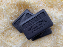 Load image into Gallery viewer, black poppy opium french soap bar