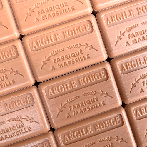 argile Rouge french soap bar