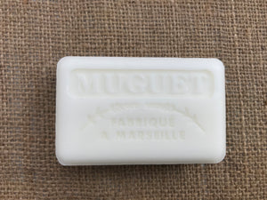 muguet french soap bar