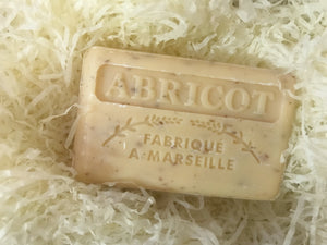 125G Savon De Marseille Apricot Exfoliating French Soap
