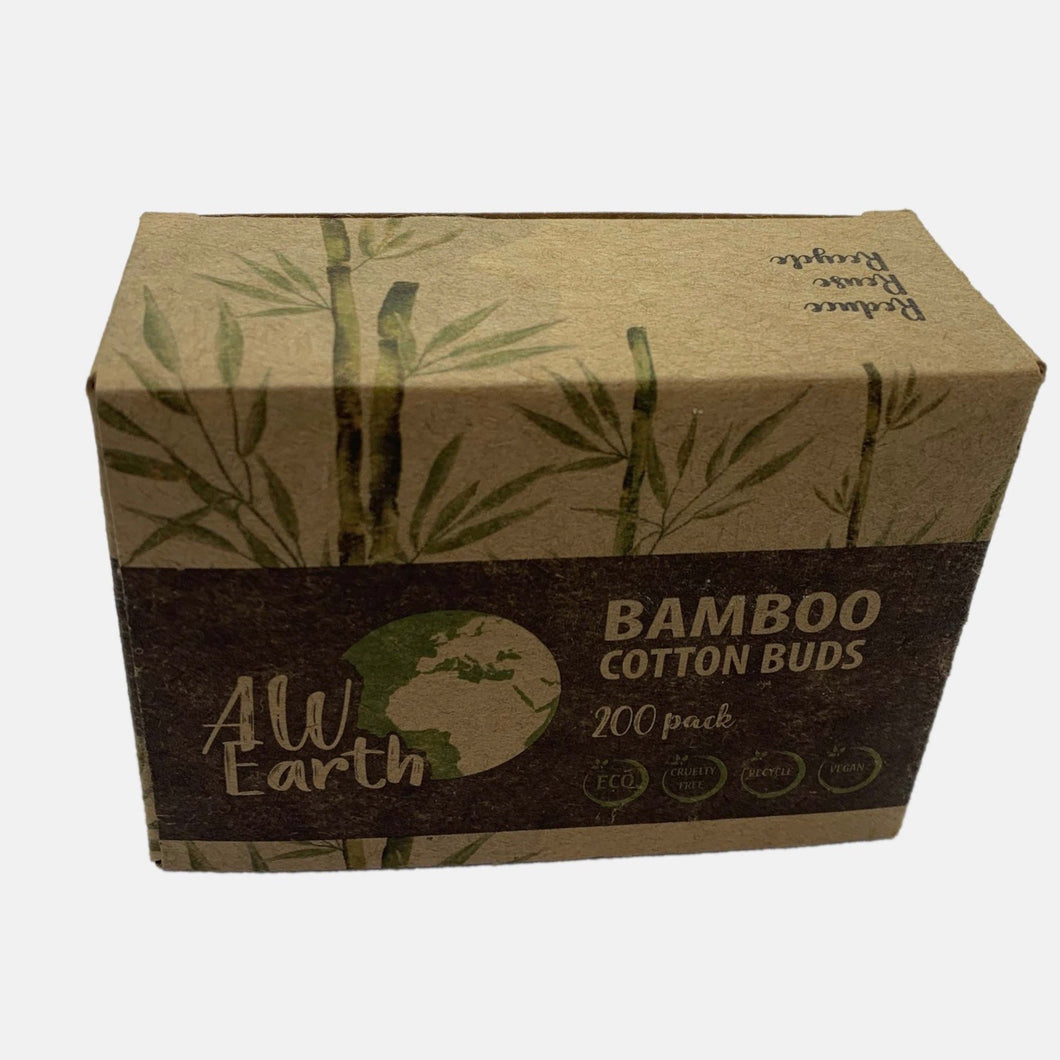 cotton buds plastic free
