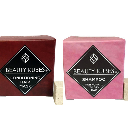Beauty Kubes Shampoo & Conditioner Twin Pack Deal