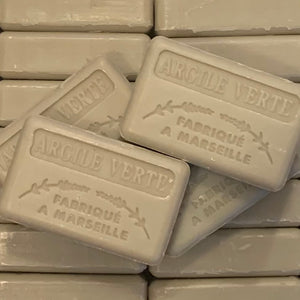 125G Savon De Marseille Argile Verte ( Green Clay ) Soap Bar