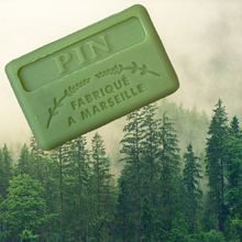 Load image into Gallery viewer, 125G Savon De Marseille Woodland Pine French Soap
