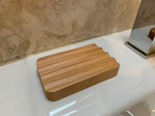 Load image into Gallery viewer, grooved soap dish firs all our soap bars