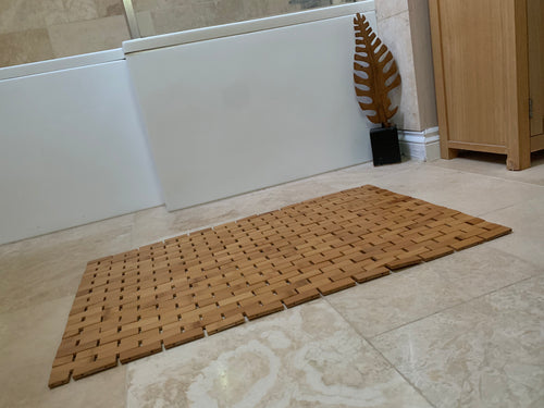 Bamboo Bathroom floor Mat