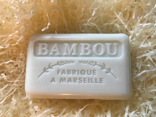 125G Savon De Marseille Bamboo French Soap Bar