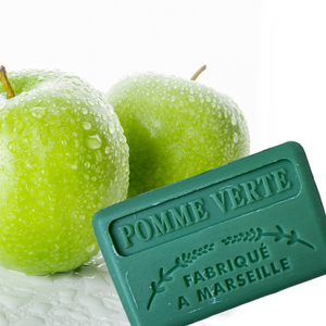 green apple french soap