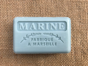 marine french natural soap bar