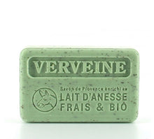 Load image into Gallery viewer, verveine lait d'anesse exfoliating soap