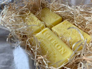 125G Savon De Marseille Lemon  (Citron) French Soap Bar