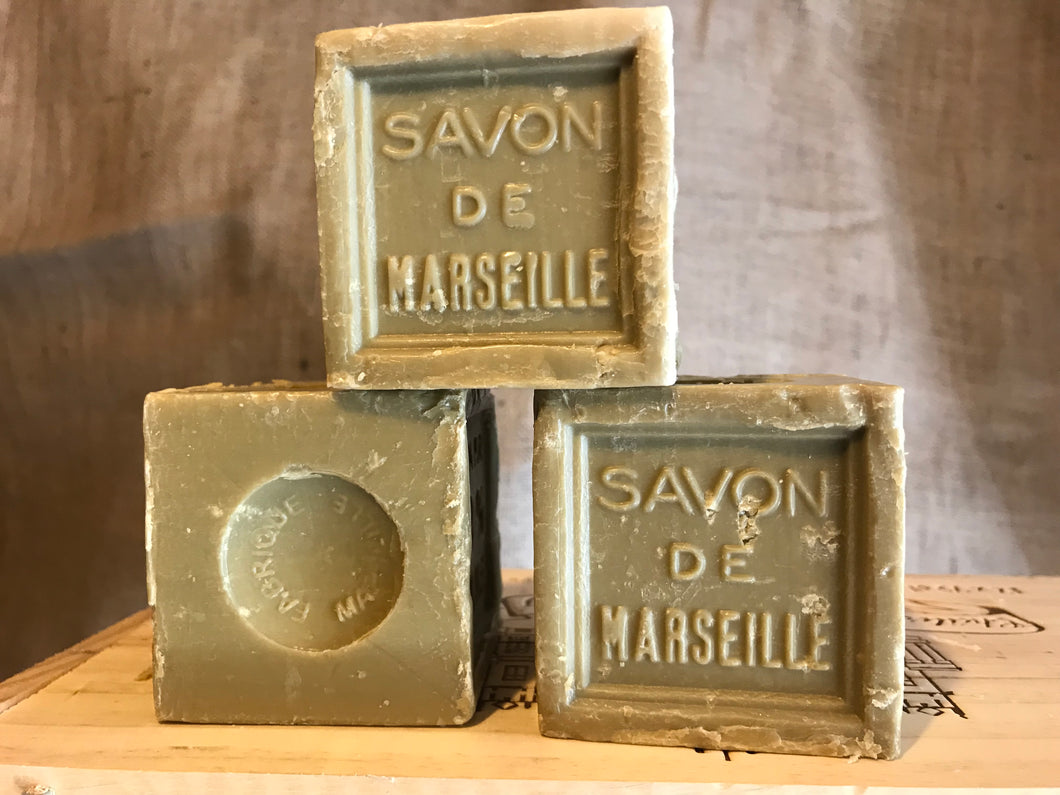 600g traditional savon de marseille cube 72% olive oil