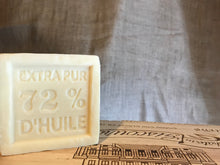 Load image into Gallery viewer, 300g Savon De Marseille Traditional French Soap Cube with Vegetable Oil 72%