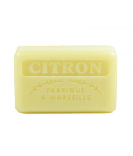 citron lemon french soap bar