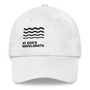 At God's Wavelength Embroidered Hat