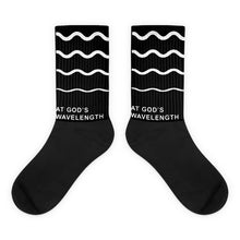 At God's Wavelength Socks