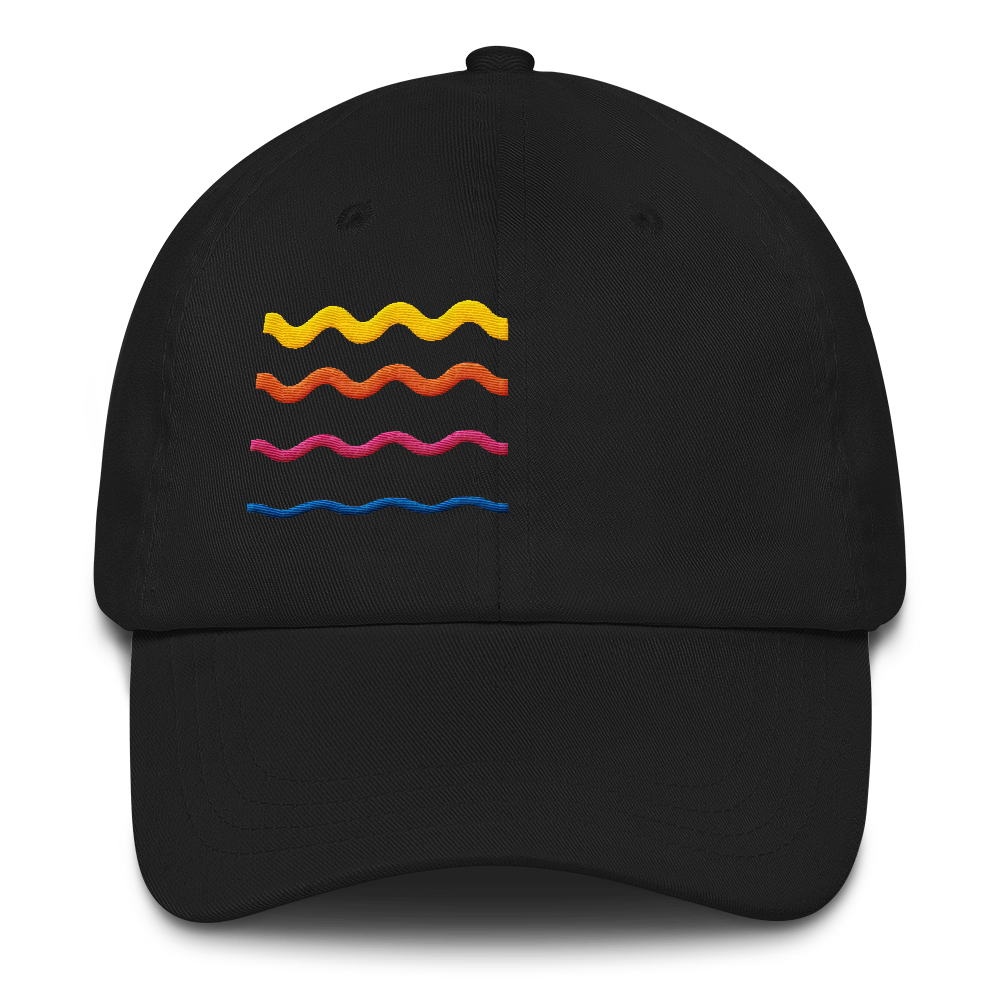 At God's Wavelength Embroidered Summer Hat