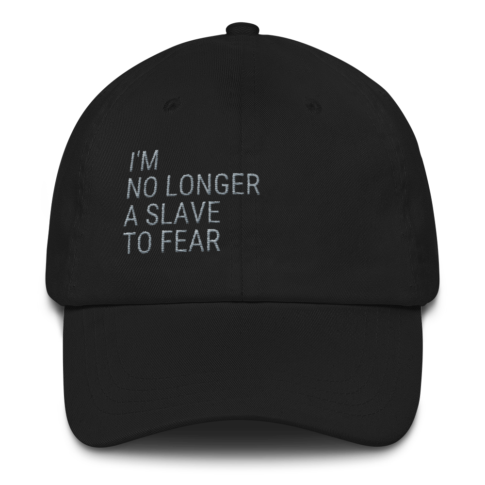 No Longer A Slave To Fear Govibly Hat