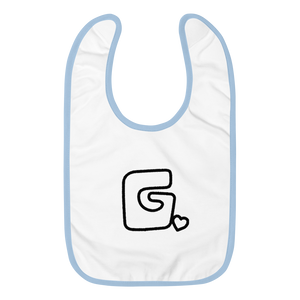 Govibly Embroidered Baby Bib