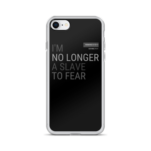 No Longer A Slave To Fear Govibly iPhone Case