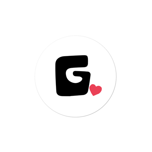 "Govibly ""G"" Logo Stickers"