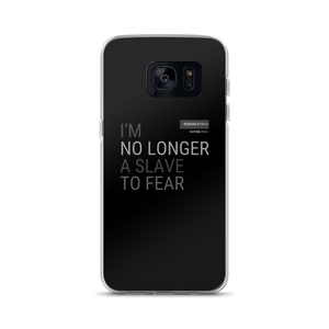 No Longer A Slave To Fear Govibly Samsung Case