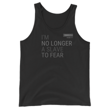 No Longer A Slave To Fear Govibly Unisex  Tank Top